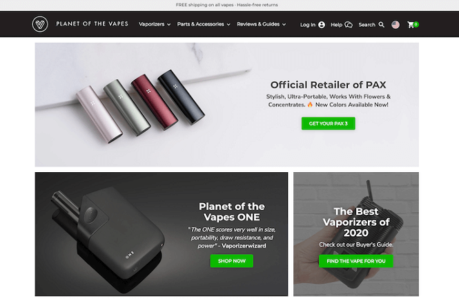 Online Vape Shop